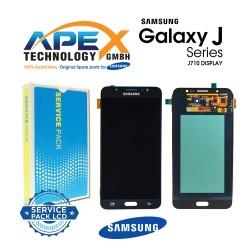 Samsung Galaxy J7 2016 (SM-J710F) Lcd Display / Screen + Touch Black GH97-18931B