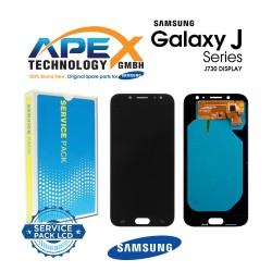 Samsung Galaxy J7 2017 (SM-J730F) Lcd Display / Screen + Touch Black GH97-20736A