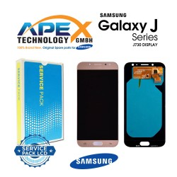 Samsung Galaxy J7 2017 (SM-J730F) Lcd Display / Screen + Touch Gold GH97-20736C
