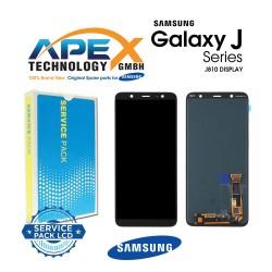 Samsung Galaxy J8 (SM-J810F) Lcd Display / Screen + Touch Black GH97-22149A
