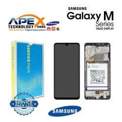 Samsung Galaxy M32 (SM-M325F 2021 ) Lcd Display / Screen + Touch Black GH82-26193A OR GH82-25981A