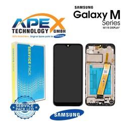 Samsung Galaxy M11 (SM-M115F) Lcd Display / Screen + Touch Black GH81-18736A