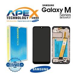 Samsung Galaxy M01 (SM-M015F) Display module LCD / Screen + Touch Black GH82-