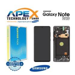 Samsung SM-N770 Galaxy Note 10 Lite Lcd Display / Screen + Touch - Black - GH82-22055A OR GH82-22193A OR GH82-22194A