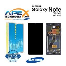Samsung SM-N970 Galaxy Note 10 Lcd Display / Screen + Touch - Aura Black - GH82-20818A
