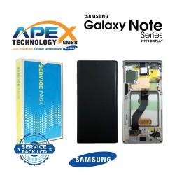 Samsung SM-N970 Galaxy Note 10 Lcd Display / Screen + Touch - Aura White - GH82-20818B OR GH82-20817B