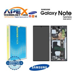 Samsung Galaxy Note 20 Ultra 5G (SM-N986F) Lcd Display / Screen + Touch Mystic Black GH82-23596A