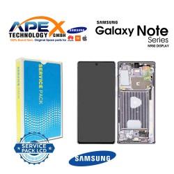 Samsung Galaxy Note 20 (SM-N980F SM-N981F) Lcd Display / Screen + Touch Mystic Grey GH82-23495A