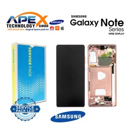Samsung Galaxy Note 20 (SM-N980F SM-N981F) Lcd Display / Screen + Touch Mystic Bronze GH82-23495B