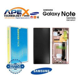 Samsung Galaxy Note 20 Ultra (SM-N985F) Display module LCD / Screen + Touch Bronze GH82-23511D