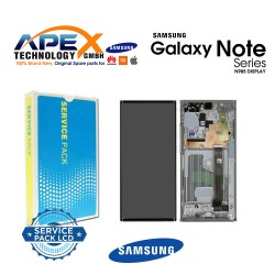 Samsung Galaxy Note 20 Ultra (SM-N985F) Display module LCD / Screen + Touch White GH82-23511C