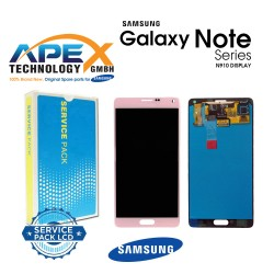 Samsung SM-N910 Galaxy Note 4 LCD Display / Screen + Touch - Pink