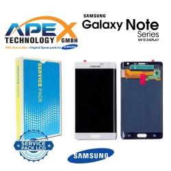 Samsung Galaxy Note Edge (N915) Lcd Display / Screen + Touch White GH97-16636B