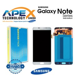Samsung SM-N920 Galaxy Note 5 LCD Display / Screen + Touch - Silver