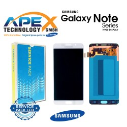Samsung SM-N920 Galaxy Note 5 LCD Display / Screen + Touch - White