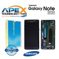 Samsung Galaxy Note 7 (SM-N930F) Lcd Display / Screen + Touch Black GH97-19302A