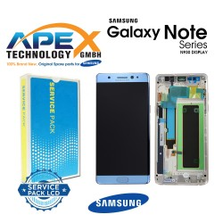 Samsung Galaxy Note 7 (SM-N930F) Lcd Display / Screen + Touch Blue GH97-19302F