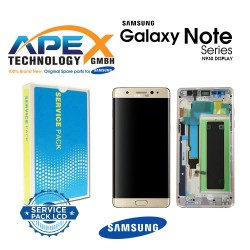 Samsung Galaxy Note 7 (SM-N930F) Lcd Display / Screen + Touch Gold GH97-19302C