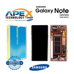 Samsung Galaxy Note 9 (SM-N960F) Lcd Display / Screen + Touch metallic copper GH97-22269D