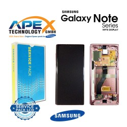 Samsung SM-N970 Galaxy Note 10 LCD Display / Screen + Touch - Aura Pink