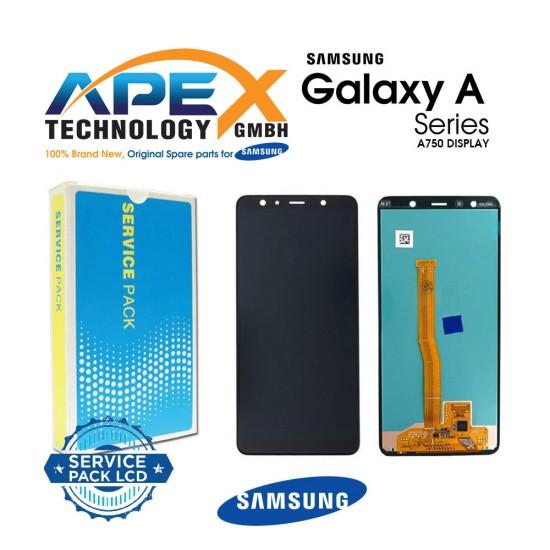 Samsung SM-A750 Galaxy A7 (2018) LCD Display / Screen + Touch Black