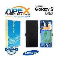 Samsung Galaxy S10 Lite (SM-G770F) Lcd Display / Screen + Touch Prism Blue GH82-21672C