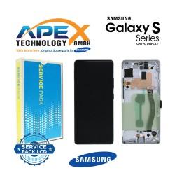 Samsung Galaxy S10 Lite (SM-G770F) Lcd Display / Screen + Touch Prism White GH82-21672B