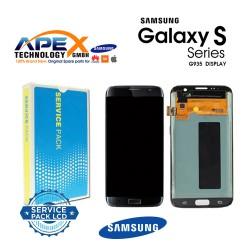 Samsung Galaxy S7 Edge (SM-G935F 2016 (No Frame) Lcd Display / Screen + Touch Black GH96-09784A