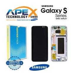 Samsung Galaxy S8 (SM-G950F) Lcd Display / Screen + Touch Violet GH97-20457C OR GH97-20458C OR GH97-20473C OR GH97-20629C