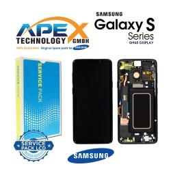 Samsung Galaxy S9 Plus (SM-G965F) Lcd Display / Screen + Touch Midnight Black GH97-21691A