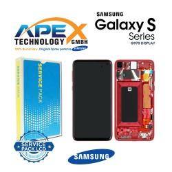 Samsung Galaxy S10e (SM-G970F) Lcd Display / Screen + Touch Flamingo Pink GH82-18852D