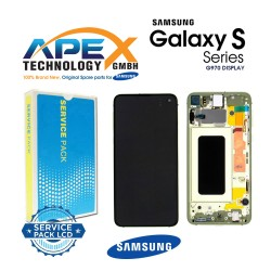 Samsung Galaxy S10e (SM-G970F) Lcd Display / Screen + Touch canary yellow GH82-18852G