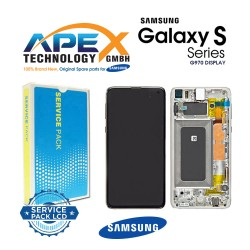 Samsung Galaxy S10e (SM-G970F) Lcd Display / Screen + Touch Prism Silver GH82-18852F
