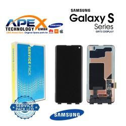 Samsung Galaxy S10 ( SM-G973  2019 ) Lcd Display / Screen + Touch - No Frame GH96-12255A