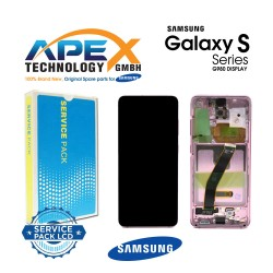 Samsung SM-G981 Galaxy S20 Lcd Display / Screen + Touch - Pink - GH82-22131C OR GH82-22123C