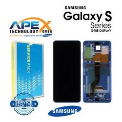 Samsung Galaxy S20 Plus (SM-G985F) Lcd Display / Screen + Touch Aura Blue GH82-22145H
