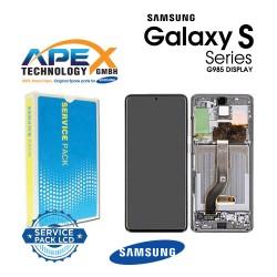 Samsung Galaxy S20 Plus (SM-G985F) Lcd Display / Screen + Touch Cosmic Grey GH82-22145E