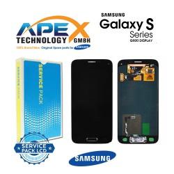 Samsung SM-G800F Galaxy S5 Mini LCD Display / Screen + Touch - Black