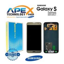 Samsung SM-G800F Galaxy S5 Mini LCD Display / Screen + Touch - Gold
