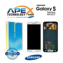 Samsung SM-G800F Galaxy S5 Mini LCD Display / Screen + Touch - White
