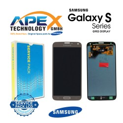 Samsung SM-G903 Galaxy S5 NEO LCD Display / Screen + Touch - Gold