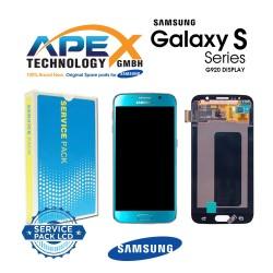 Samsung Galaxy S6 (SM-G920F) Lcd Display / Screen + Touch Blue GH97-17260D