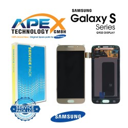 Samsung Galaxy S6 (SM-G920F) Lcd Display / Screen + Touch Gold GH97-17260C