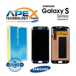 Samsung Galaxy S6 Edge+ (SM-G928F) Lcd Display / Screen + Touch Black GH97-17819B