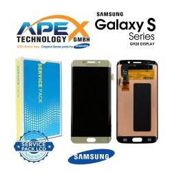 Samsung Galaxy S6 Edge+ (SM-G928F) Lcd Display / Screen + Touch Gold GH97-17819A