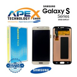 Samsung Galaxy S6 Edge+ (SM-G928F) Lcd Display / Screen + Touch Silver GH97-17819D