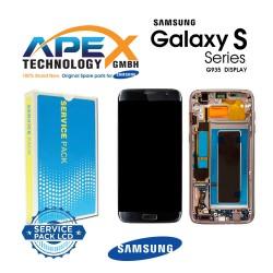 Samsung Galaxy S7 Edge (SM-G935F) Lcd Display / Screen + Touch + Battery Black GH82-13388A