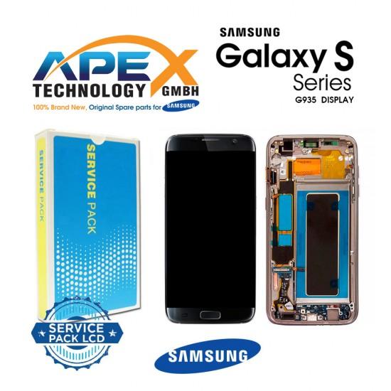 Samsung Galaxy S7 Edge (SM-G935F) Lcd Display / Screen + Touch Black GH97-18533A