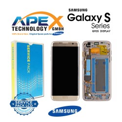 Samsung Galaxy S7 Edge (SM-G935F) Lcd Display / Screen + Touch + Battery Gold GH82-13390A