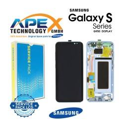 Samsung Galaxy S8 (SM-G950F) Lcd Display / Screen + Touch Blue GH97-20457D OR GH97-20458D OR GH97-20473D OR GH97-20629D